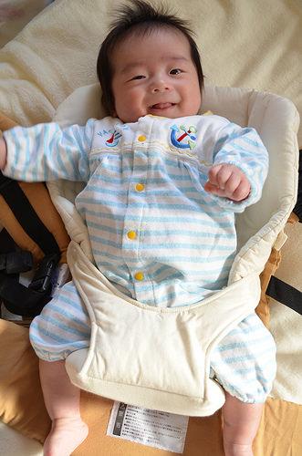napnap 抱っこひも用 新生児パッド