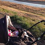ベビーカー 赤ちゃん 散歩