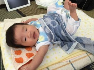 生後2か月 赤ちゃん ゆかり