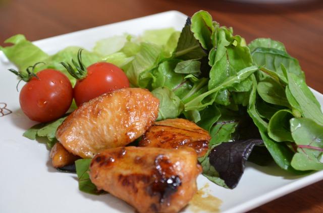 フライパンひとつで!鶏ムネ肉の照焼 調理済