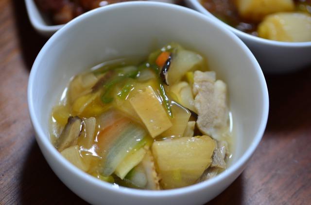 わんまいる5食目 主菜 国産筍入り八宝菜
